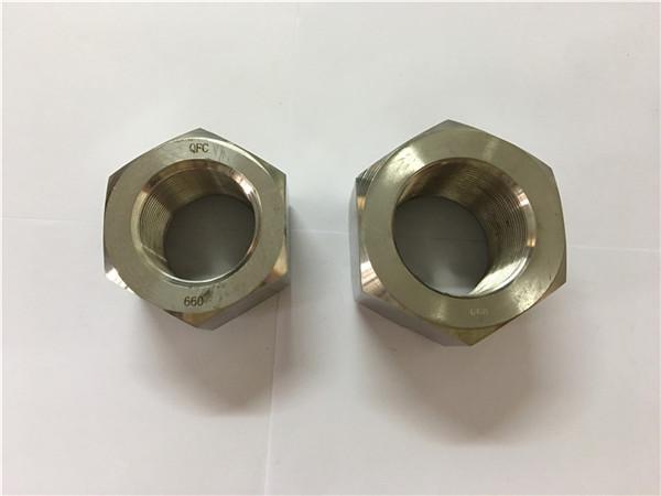 آلیاژ نیکل a453 660 1.4980 آجیل hex