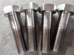 No.15-Nitronic 50 XM-19 Hex پیچ DIN931 UNS S20910