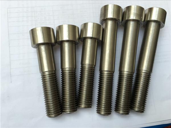اتصال دهنده سخت افزاری hastelloy c276 n10276 پیچ سرپیچ سوکت