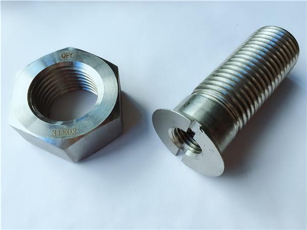 پیچ و مهره سخت افزاری فلزی فولاد کربن سفارشی
