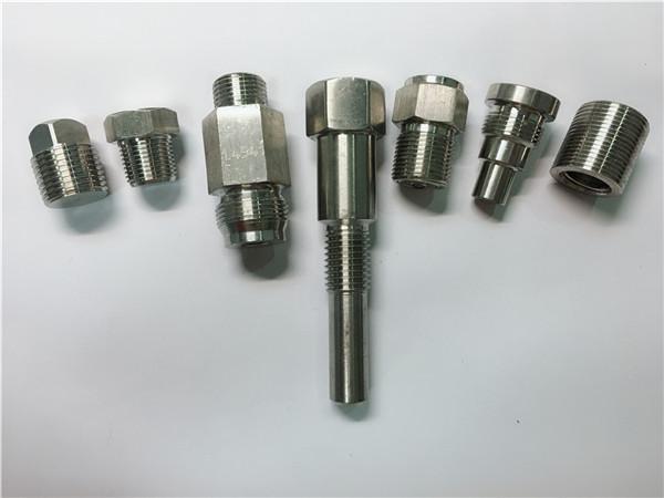 اتصال دهنده های فولادی ضد زنگ دستگاه تراش با کیفیت بالا ساخته شده از ماشینکاری CNC
