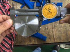 تست ابعاد پیچ پیچ هگزا S31803