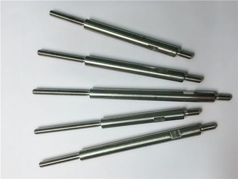 اتصال دهنده های پیچیده با فولاد ضد زنگ ماشینکاری دقیق cnc