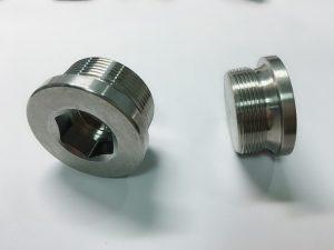 پیچ حلقه از فولاد ضد زنگ سفارشی ساخته شده با حلقه کلید ss