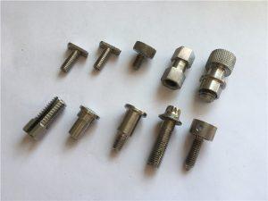 پیچ غیر استاندارد استاندارد با دقت بالا ، پیچ ماشینکاری CNC از فولاد ضد زنگ