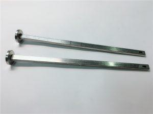 اتصال دهنده اتصال دهنده سخت افزار 316 فولاد ضد زنگ سر گردن مربع مسطح din603 m4